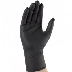 Gant nitrile 295 mm. Usage unique. AQL 1,5. Boîte distributrice de 100 gants.