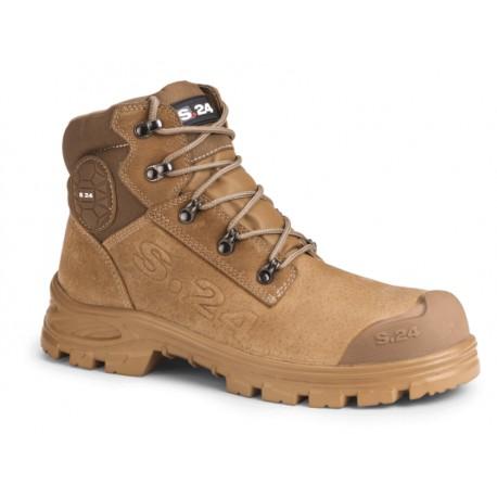 Chaussure de sécurité montante en cuir nubuck souple XPER