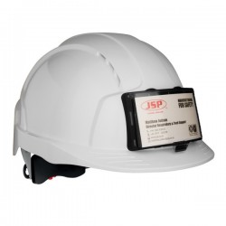 Casque de chantier EVOLite® avec porte badge.