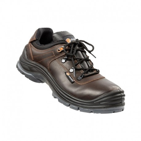 Chaussures basse en cuir marron hydrofuges