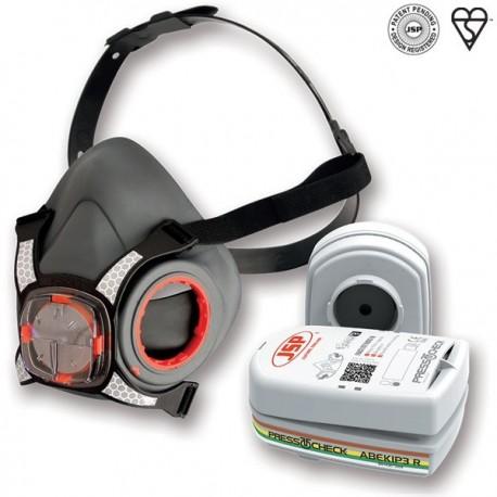 Masque protection respiratoire avec filtres ABEK1P3 R