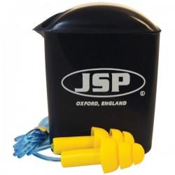 Bouchons d'oeilles JSP avec cordelette MAXIFIT PRO SNR 26 dB
