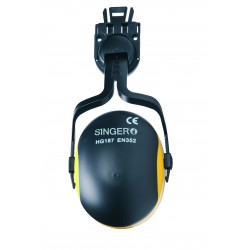 Dispositif anti bruit pour casque de chantier SINGER 23 dB