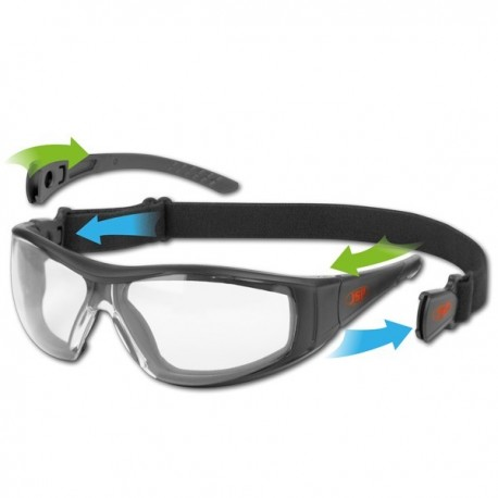 LUNETTES PROTECTION STEALTH HYBRID JOINT MOUSSE BANDEAU BRANCHES