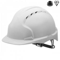 Casque de chantier EVO2™  ventilé avec visière & fentes universelles pour accessoires