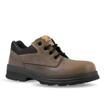 Chaussures de sécurité S3 SRC cuir marron - ETNIC