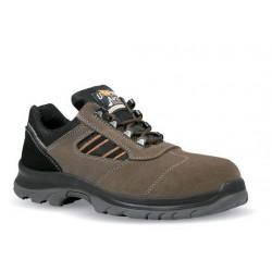 Chaussures de sécurité S3 SRC cuir velour marron hydrofuge - LEO