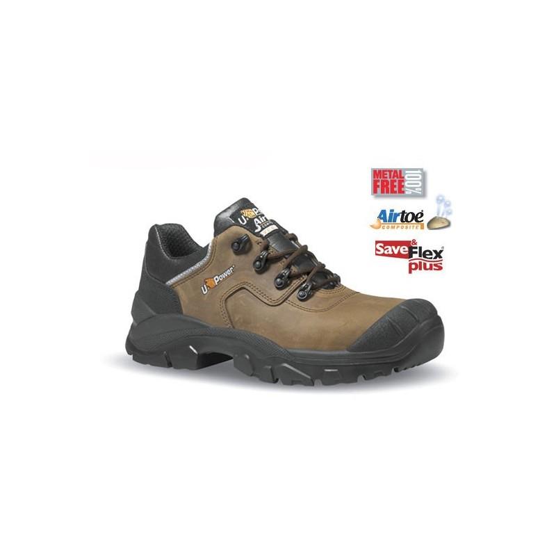 chaussures de s curit avec sur embout renforc en cuir hydrofuge marron quebec. Black Bedroom Furniture Sets. Home Design Ideas