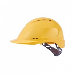 Casque de chantier ABS aéré 8 pt fixation