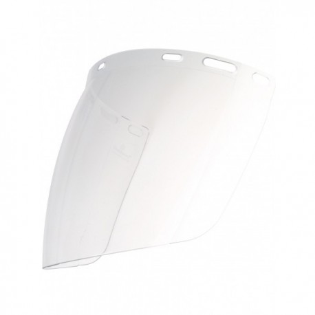 Large écran de protection sphérique pour casque de sécurité EPI Tête accessoires casque de chantier