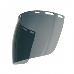 Ecran de protection teinté, sphérique et anti-buée pour casque de chantier