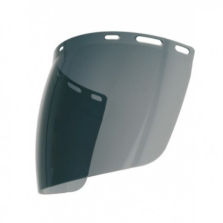 Large écran de protection sphérique teinté anti-buée pour casque de chantier EPI Tête accessoires casque de chantier