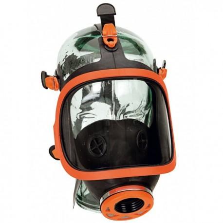 Masque respiratoire panoramique en caoutchouc EPI protection voies respiratoires