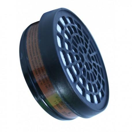 Filtre galette pour masque respiratoire - A1 - Accessoires EPI protection voies respiratoires pas cher