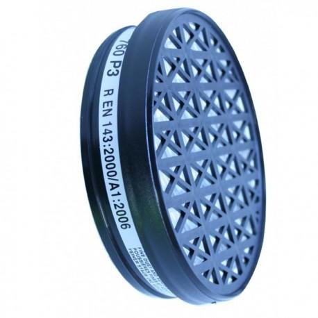 Filtre à particule P3 galette pour masque respiratoire - P3 - Accessoires EPI protection voies respiratoires pas cher