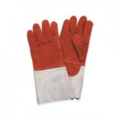 Gants chaudronnier anti-chaleur - Rouge