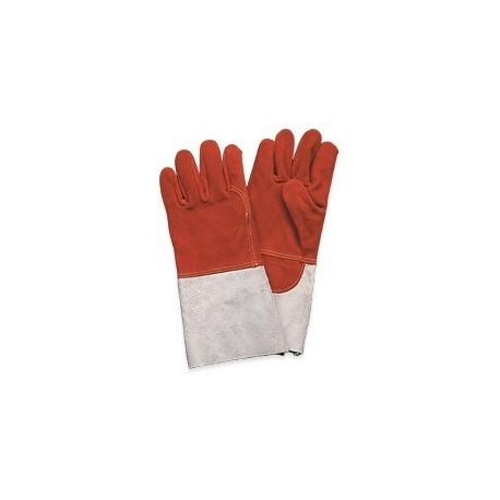 Gants chaudronnier anti-chaleur EPI pour le travail comme soudeur ou chaudronnier