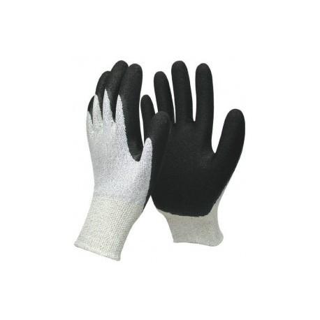 Gants anti-coupure de travail EPI en nitrile resirant avec aération