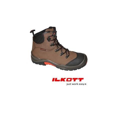 Chaussures de sécurité haut de gamme cuir légère ilkott