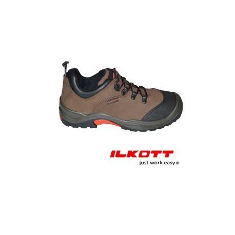 Chaussures de sécurité basse de gamme cuir légère ilkott