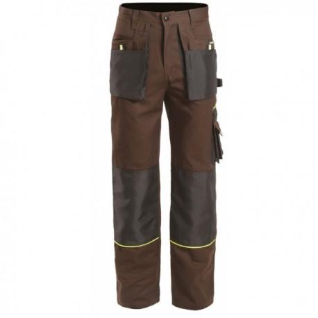 Pantalon de travail solide avec nombreuses poches pas cher